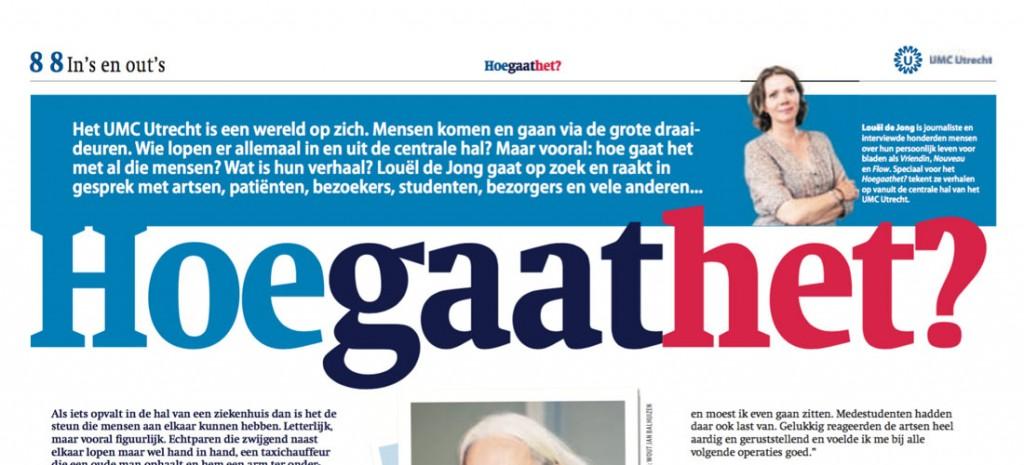 Columns krant UMC Utrecht