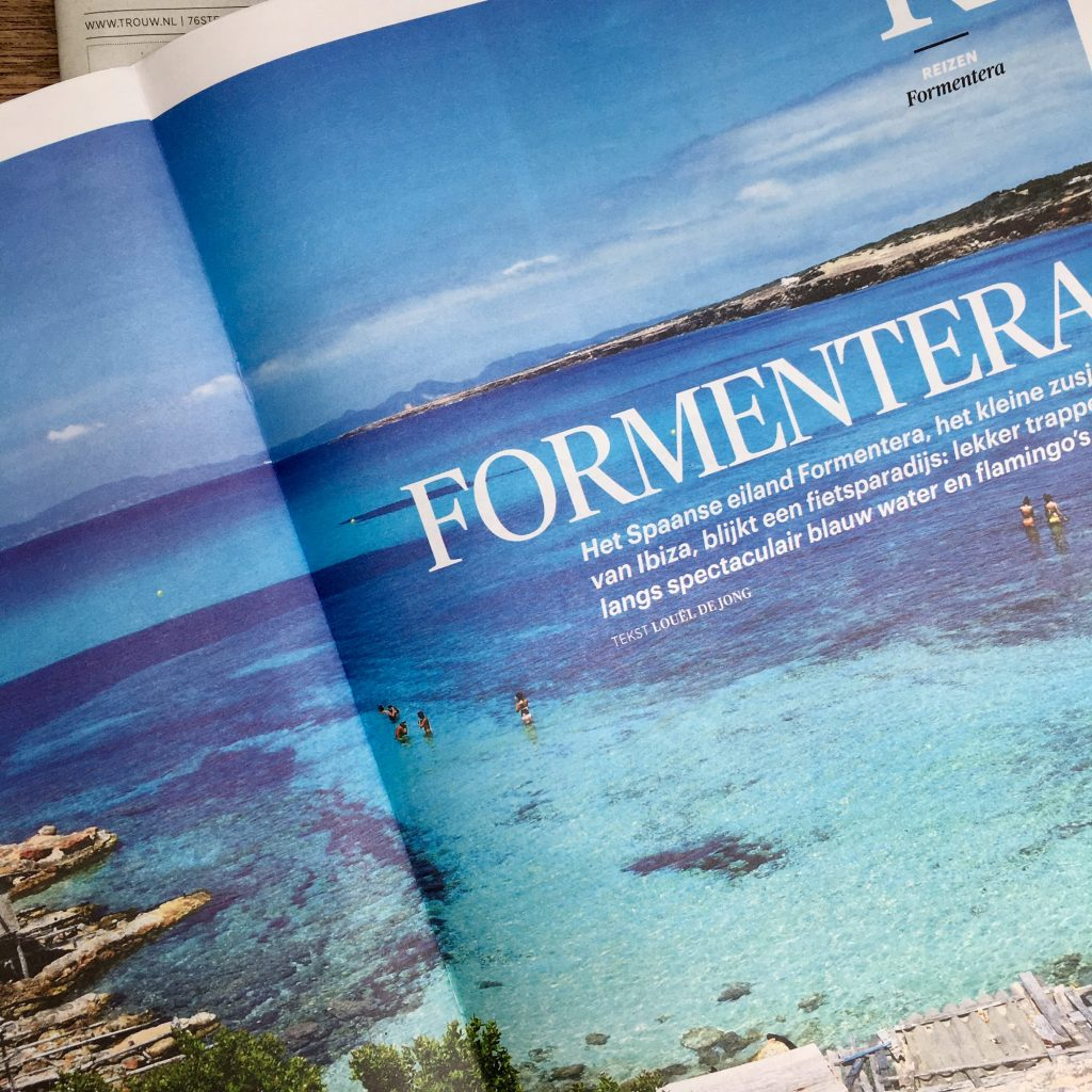 Fietsen op Formentera