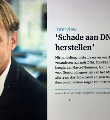 Schade aan DNA is te herstellen