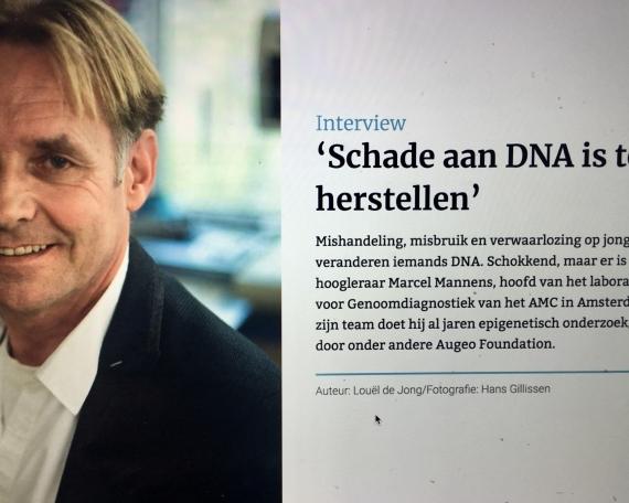 Schade aan DNA is te herstellen