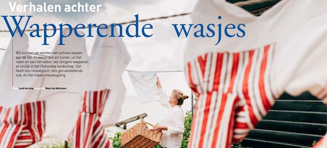 Verhalen achter wapperende wasjes