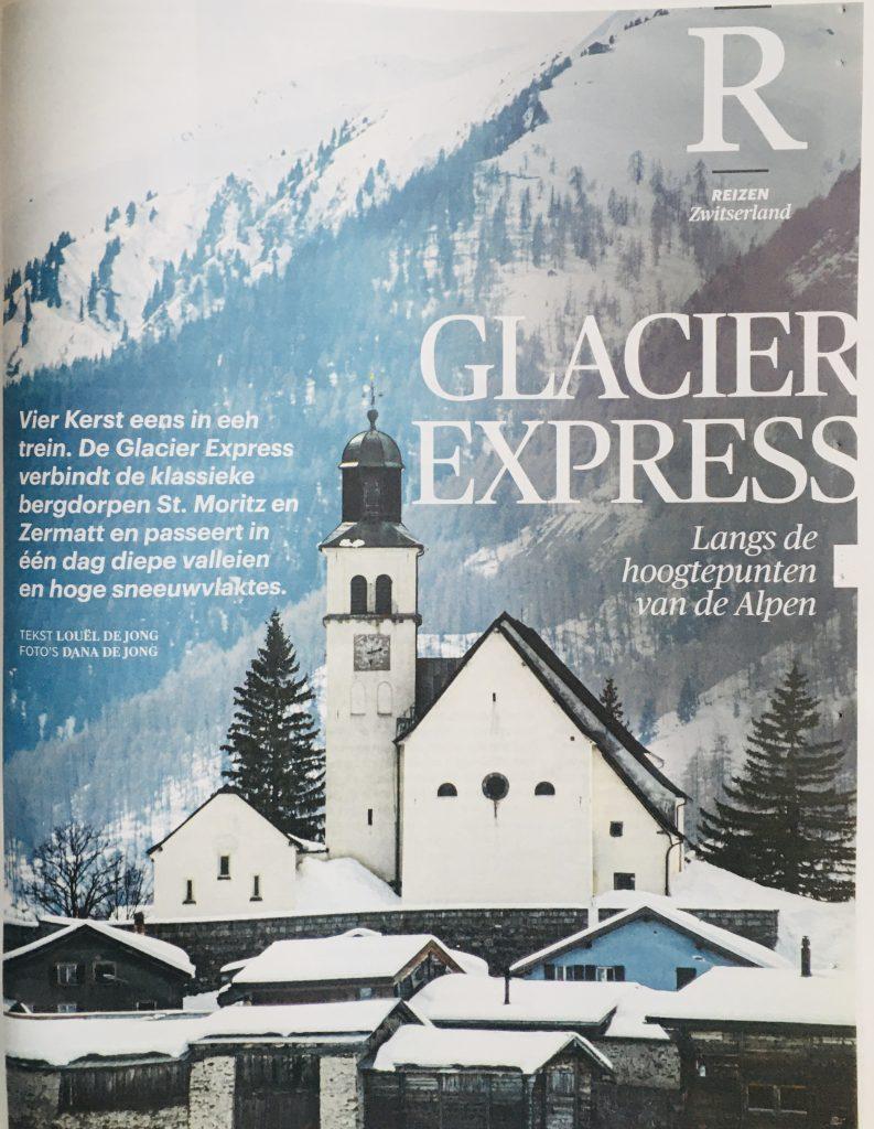 Glacier Express: wondermooie treinreis