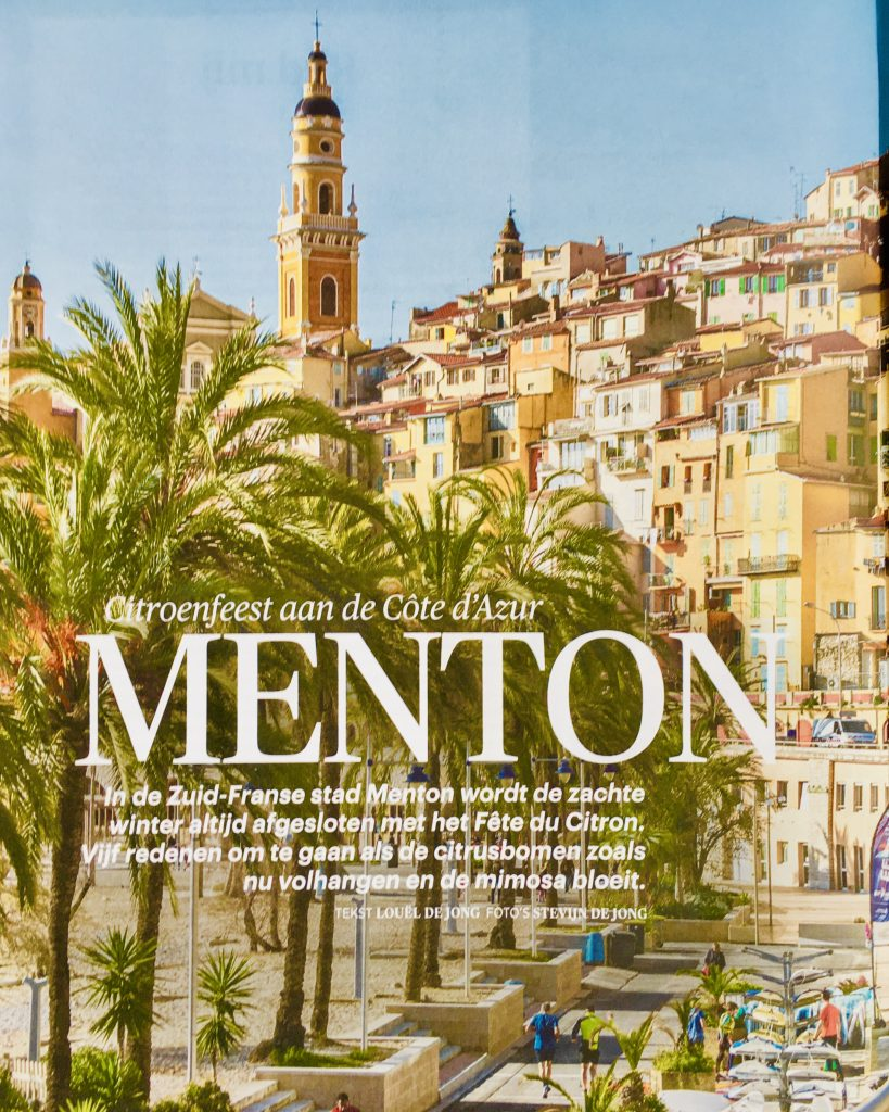 Citroenfeest aan de Côte d'Azur
