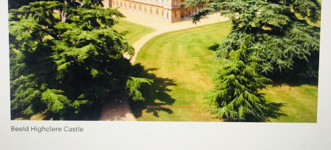 Highclere Castle, het echte 'Downton Abbey'