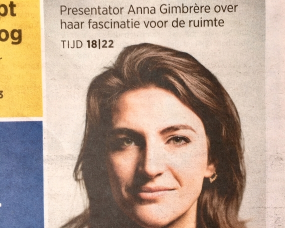 Interview Anna Gimbrère – TROUW