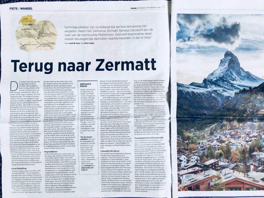 Terug naar Zermatt